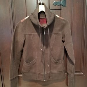 Rare Lululemon Patchwork Brown Zip Up Jacket Small